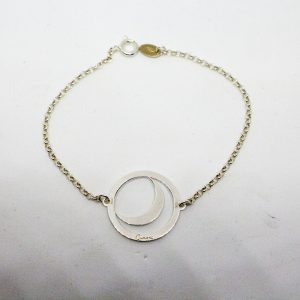 bracciale Luna con ciondolo fisso